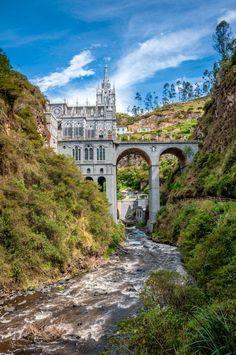 Las Lajas I - Ipiales, Narino, Columbia, South America Destination: the World