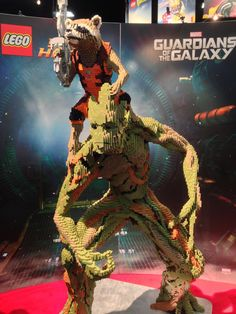 Guardians of the Galaxy Lego. Comic-Con 2014