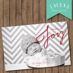 Christmas Card, Photo Christmas Card, Photo Holiday Card, DIY Printable Christmas Card