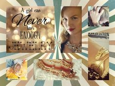 A girl can never have enough jewelry! Nope! www.chloeandisabel.com/boutique/iselleandrade
