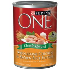 ONE Chicken and Brown Rice Adult Can Dog Food, 13 Oz *** You can get more details by clicking on the image. (This is an affiliate link and I receive a commission for the sales)