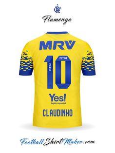 c0c59d030a Jersey Flamengo 2017 2018 Third Claudinho 10