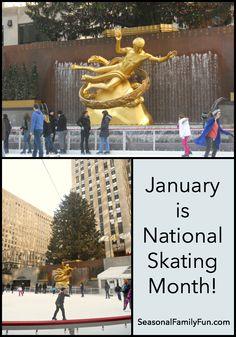 National Skating Month