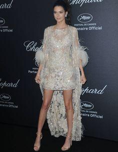 Kendall Jenner en Elie Saab à Cannes