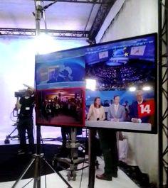 Algunas televisiones que participan en la Noche Electoral