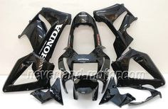 Carenado de ABS de Honda CBR900RR 929 2000-2001 - Negro