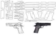 rubber band gun plans free: