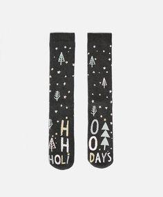 Holiday Socks #oysho #socks
