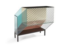 Miscredenza by Patricia Urquiola + Federico Pepe for Editions Milano. Milan Furniture, Funky Furniture, French Furniture, Cabinet Furniture, Cheap Furniture, Discount Furniture, Furniture Design, Steel Furniture, Furniture Outlet