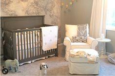Neutrals Baby Mapping, Jamie Curtis, Map Nursery, Travel Theme Nursery, Nursery Design, Nursery Room, Nursery Ideas, Nursery Inspiration, Bedroom Ideas