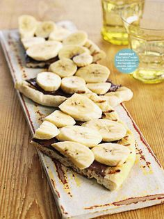 Banana & Chocolate Pizza. Shortcut Desserts 2011