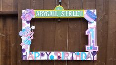Abby Cadabby or any Theme Party Photo Prop by LaraGirlsDesigns