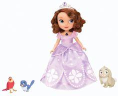 Talking Sofia the First Disney Junior Doll Animal Friends Hot Toys Girls Gift