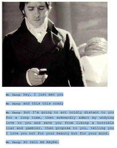 Modern Mr. Darcy : )