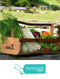 BURLIN Garden Harvest Basket Handmade Products from NC