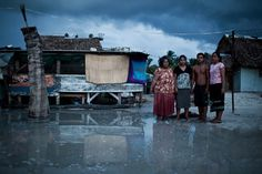 Ciril Jazbec documented life on Kiribati, a chain of South Pacific islands threatened by climate change