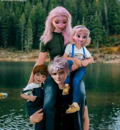Jelsa, Disney Character Drawings, Modern Disney Characters, Disney Ships, Disney Art, Disney Hogwarts, Jack Frost And Elsa, Sailor Princess, Frozen Dress