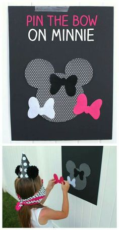 Pin the bow