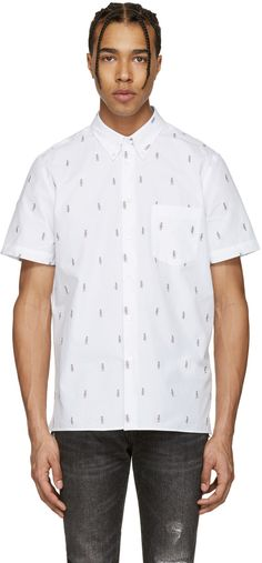 PS by Paul Smith - White Mini Parrots Shirt