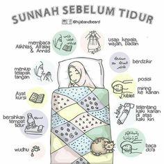 Sunnah sebelum tidu r Quran Quotes Inspirational, Islamic Love Quotes, Muslim Quotes, Motivational Quotes, Hijrah Islam, Doa Islam, Reminder Quotes, Self Reminder, Moslem