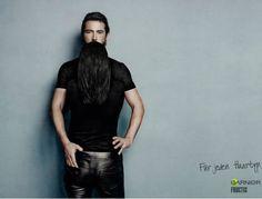 Anúncio da Garnier cria ilusão de óptica com cabelos