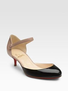 Christian Louboutin Loubis Babe Patent Leather Pumps