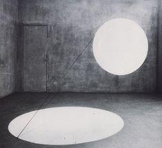 Maurizio Mochetti - Cilindro – Due dischi di luce - 1968
