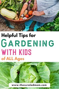 All the tips you'll need to start that family garden you've been dreaming about- included are helpful tips for gardening with younger children, as well as tweens and teens Gardening For Beginners, Gardening Tips, Vegetable Gardening, Healthy Kids, Healthy Living, Planting A Rainbow, The Tiny Seed, Bean Plant, Backyard Play