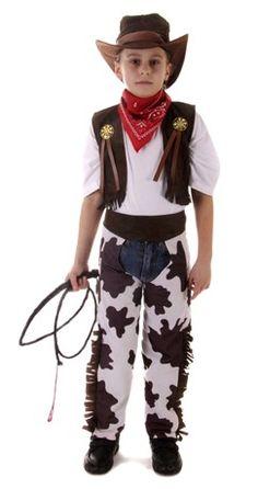 25f7e5429d8 Boys Fancy Dress Costume Cowboy Medium Wild West