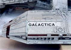 Story goes that the model that was used for filming was destroyed in a fire. Resident Evil Manga, Battlestar Galactica Model, Bsg Game, Kampfstern Galactica, 70s Tv Shows, Star Trek Ships, Star Trek Voyager, Firefly Serenity, Avatar Aang