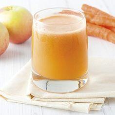 Succo di carota e mela