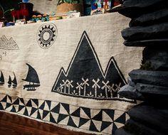 Moana Party / Moana Voyager Sail Tablecloth / Moana Decor