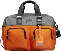Tumi Bravo Everett Essential Tote, Gray/Orange on shopstyle.com