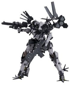 """Kotobukiya Armored Core: BFF 063AN Ambient Fine Scale Model Kit by Kotobukiya. $49.95. Recreates the powerful medium- to long-range combat unit first seen in Armored Core For Answer. A Kotobukiya Japanese import. 1:72 scale. Exceptional detail. Stands over 8-1/2"""" tall. From the Manufacturer                A Kotobukiya Japanese import.  The latest Armored Core fine scale model kit is a powerful medium to long-range combat unit first seen in Armored Core For Answer and built af..."""