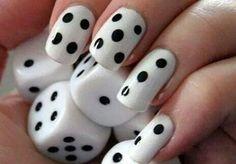 30 Diseños de uñas en BLANCO y NEGRO que se te verían increíbles ⋮ Es la moda