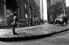 Wall Street's Iconic 'Charging Bull' Statue Has Met Its Match: A Badass Girl - Print (image) - Creativity Online
