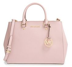 d8f890223f92 Michael Kors light pink tote bag Pink Tote Bags