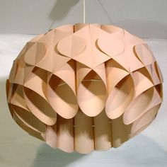 Design. Zicoli Italien. Plasik Deckenlampe. / Lámpara de techo de diseño. Ziconi. Italia. / Design. Pendant. Zicoli. Italy. 1960 - 1965.