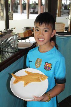 Shangri-La Villingili shark pancake Pancake Art, Shangri La, Maldives, Shark, Pancakes, Breakfast, Food, The Maldives, Morning Coffee