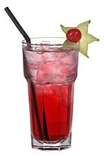 Cranberry juice and vodka