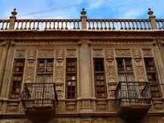 فن العمارة والنحت - بقايا بغداد العتيقة