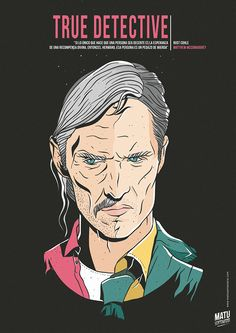 True Detective - poster - Matu Santamaria