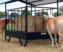 Model 610H is a hassle-free hay bale feeder!