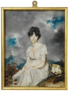 George Chinnery (1774-1852), Portrait of Catherine Sherson, born Taylor, 1802 or 1803