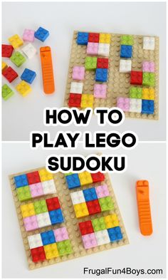 Lego Math, Lego Craft, Lego Minecraft, Lego Activities, Lego Games, Craft Activities For Kids, Kid Games, Math Games, Fun Games For Girls