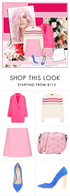 """""""Sin título #2578"""" by liliblue ❤ liked on Polyvore featuring Poesia, McQ by Alexander McQueen, J.Crew, Marni and Welden"""