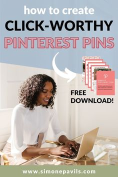 If you feel like no one is finding the valuable content that you are creating this FREE guide is for you! Learn how to craft catchy, click worthy Pinterest Titles in just minutes! Pinterest Pin, Pinterest For Business, Business Entrepreneur, Pinterest Marketing, How Are You Feeling, Free