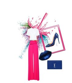 Designer Clothes, Shoes & Bags for Women Zuhair Murad, Alexander Wang, Polyvore Fashion, Givenchy, Yves Saint Laurent, Christian Louboutin, Disney Princess, Clothing, Design