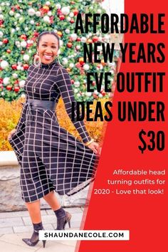 "I'm reading Michelle Obama's book Becoming. I picked this ""First Lady"" style dress for a speaking engagement Christmas Party Outfits, Holiday Party Outfit, New Years Outfit, New Years Eve Outfits, Holiday Fashion, Holiday Style, Black Girl Fashion, Womens Fashion, Retro Fashion"