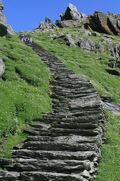 Winding stone stairs small island by ireland Stairs Colours, Miss Mom, Waterford City, Ireland Pictures, Staircase Design, Staircase Ideas, Stone Stairs, Stair Steps, England And Scotland